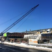 Cornell's Klarman Hall Project Finishing Structural Steel
