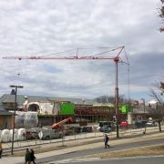 Klarman Hall Structural Steel Complete
