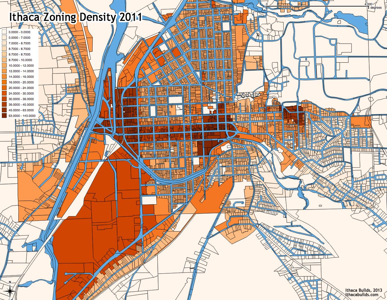 Ithaca_Zoning_Density_2011
