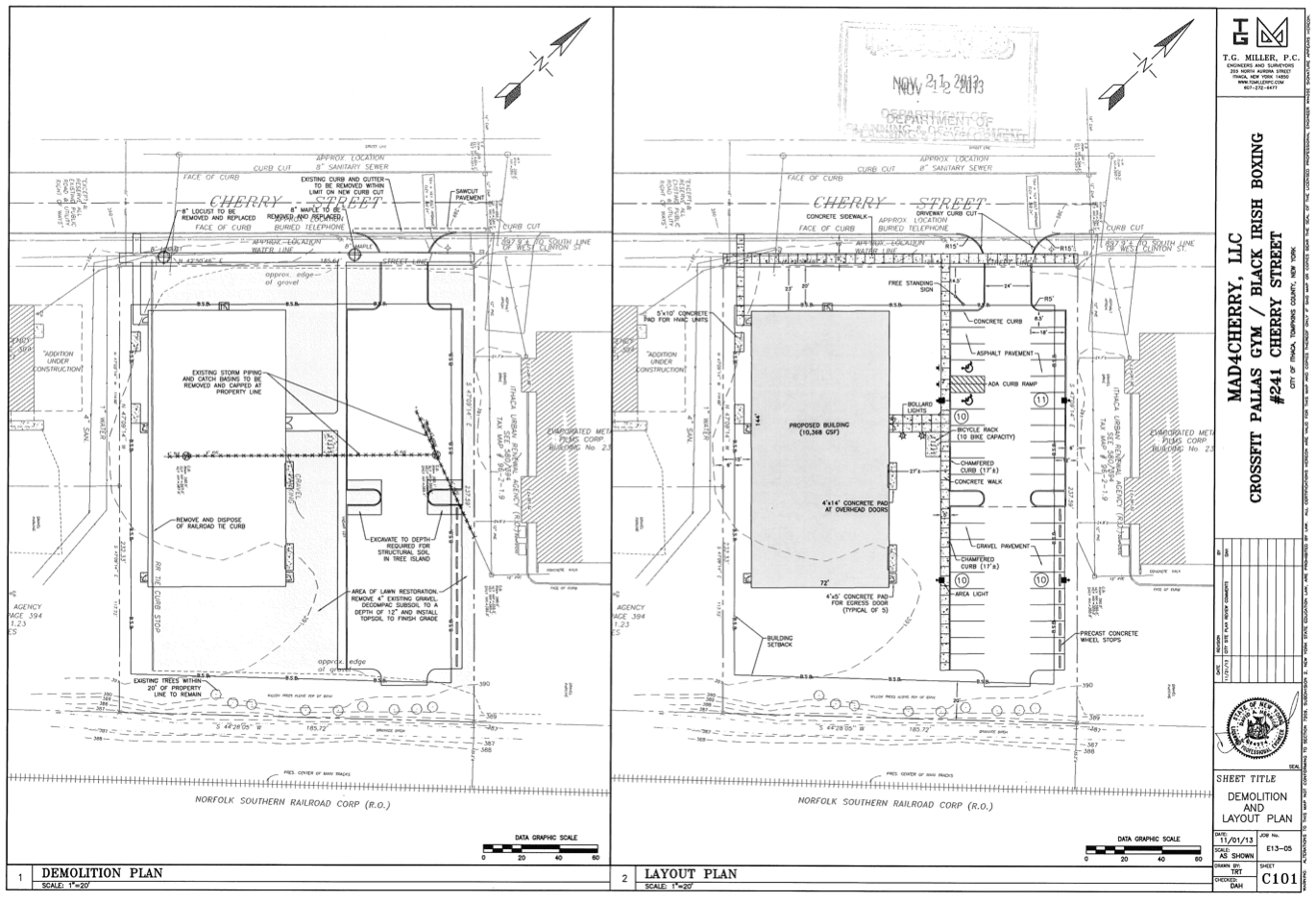 Crossfit-Cherry-Street-Site-Plan
