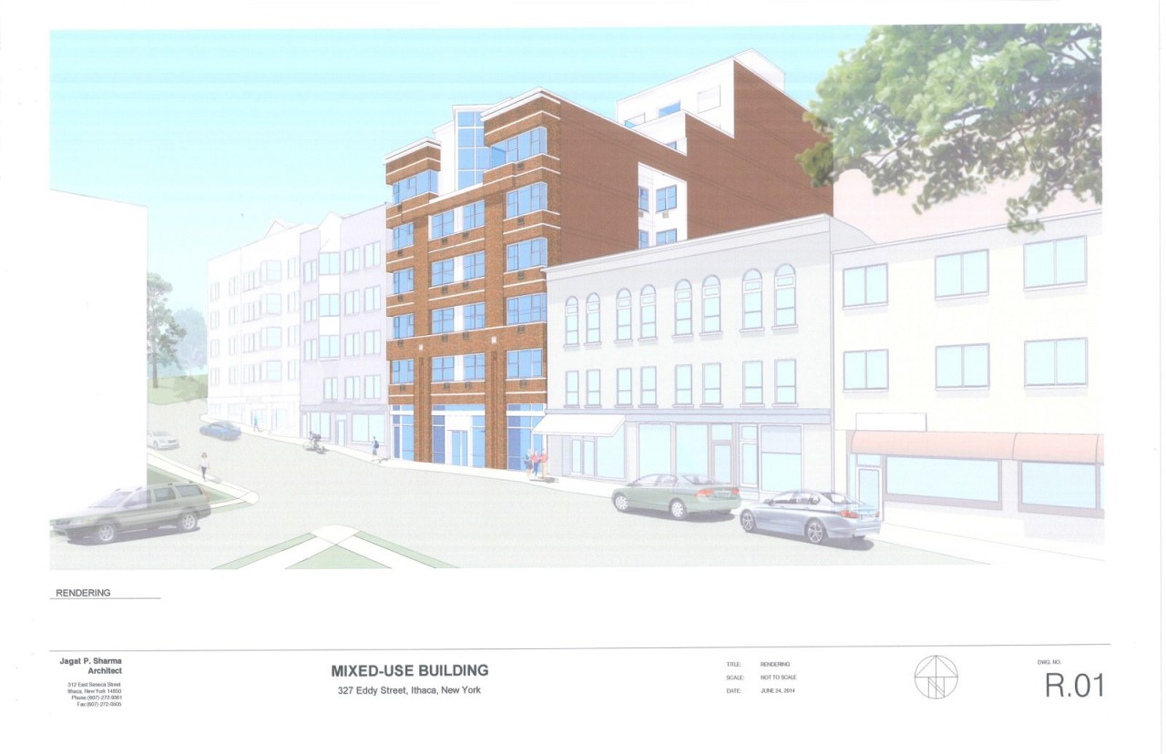 327 Eddy Street - Mixed-Use Building - Sketch Plan Drawings - 06-24-14_Page_1