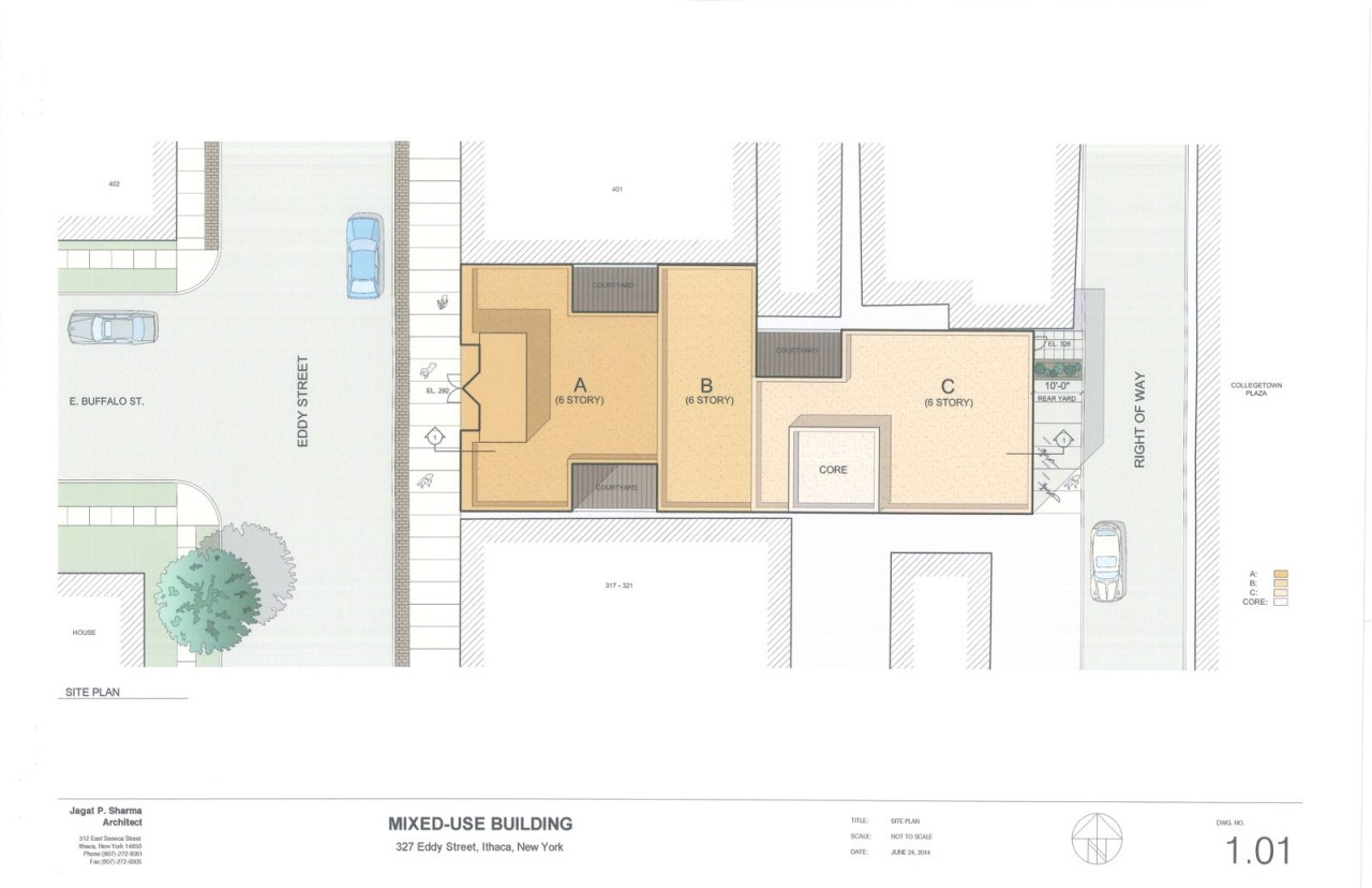 327 Eddy Street - Mixed-Use Building - Sketch Plan Drawings - 06-24-14_Page_3