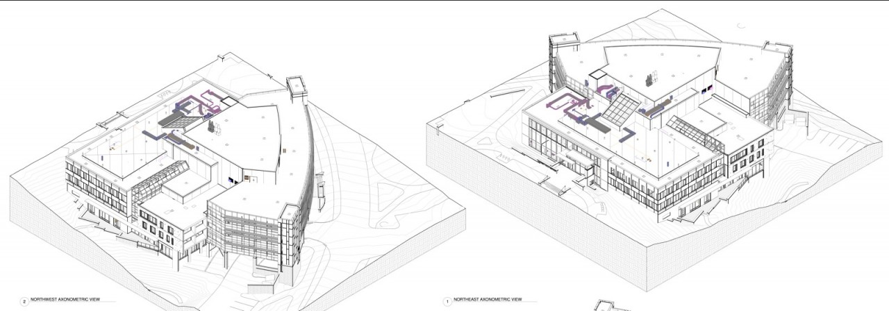 Gannett Health Services Building - SPR Application - Drawings - A200-C202 - 06-04-14