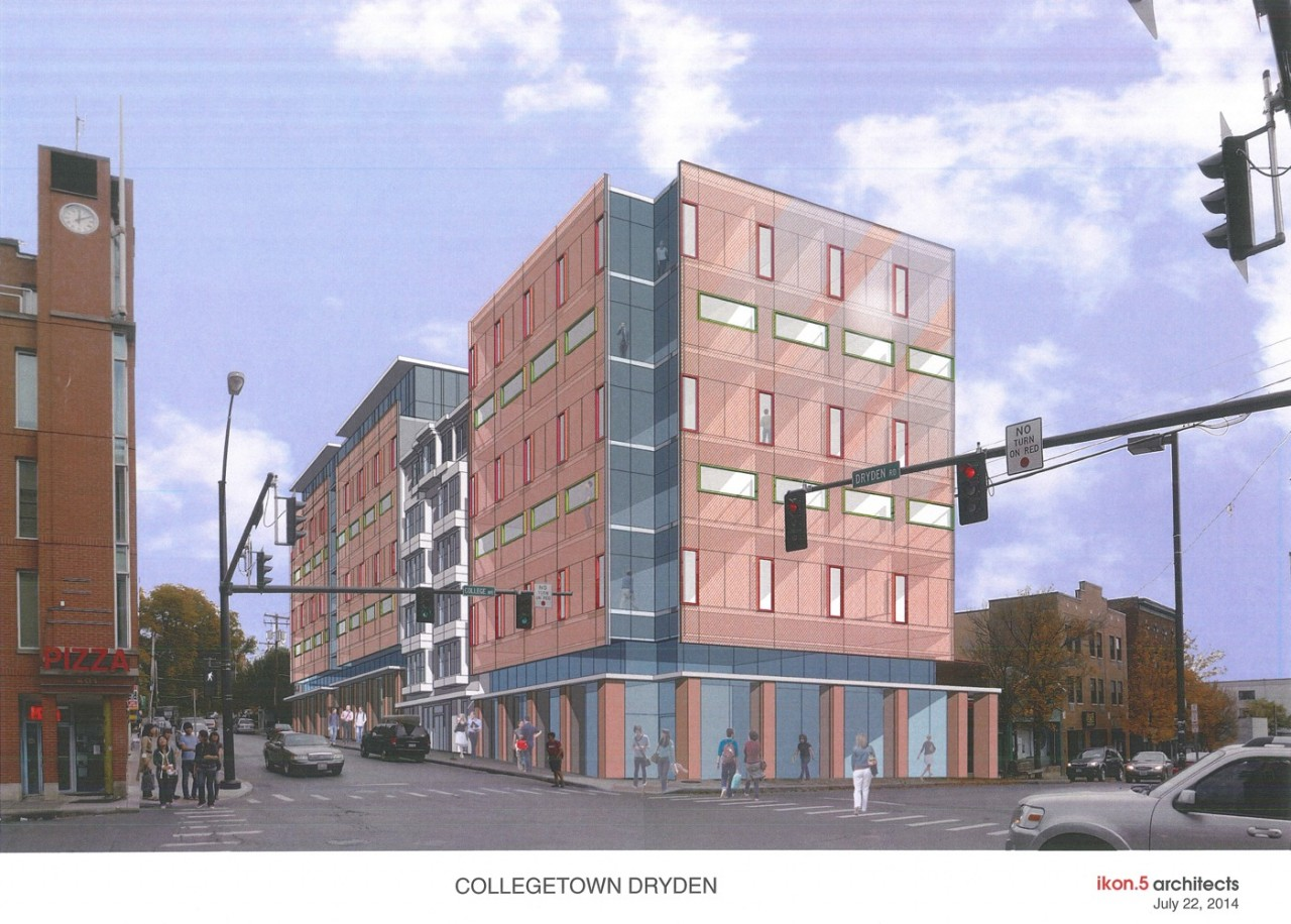 Collegetown Dryden Project - Sketch Plan Presentation - 07-22-14_Page_1